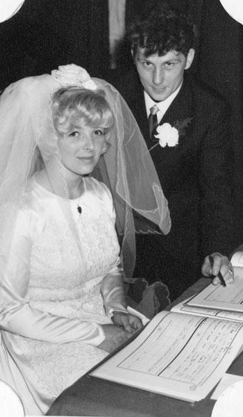 Wedding of Alan Robinson and Jacqueline Bowers