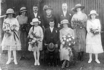 Wedding of John and Annie Fox