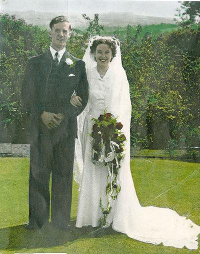 Wedding of Margaret Smith and Roy Liddiard