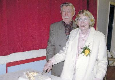 Golden wedding celebrations of Brenda and John Parkin