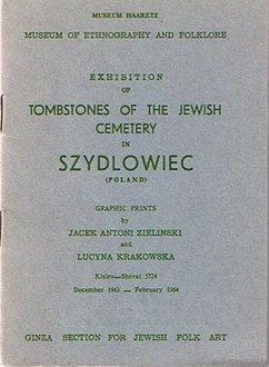 Exhibition of Tombstones of Jewish Cemetery in Szydlowiec