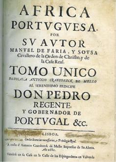 Africa Portuguesa par sv autor...