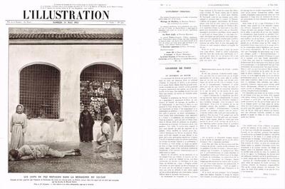 Les juifs de Fez réfugiés dans la ménagerie du Sultan