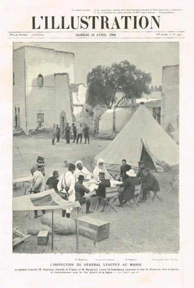 L'inspection générale Lyautey au Maroc