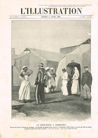 La Croix-Rouge à Casablanca
