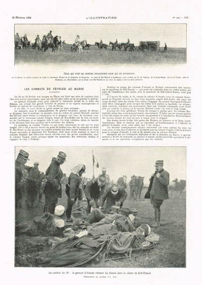 Les combats de février au Maroc