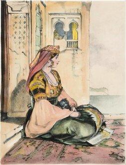 Jewish women in fiesta dress