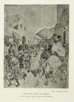 Fete juive à Tétouan