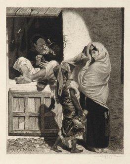 Le marchand de bijoux à Tanger