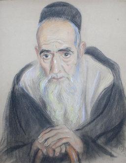 Vieux juif marocain