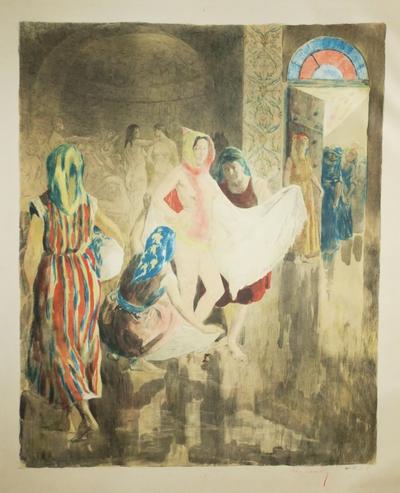 Le bain de la mariée juive