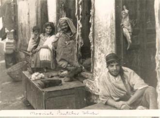 Moorish butcher shop