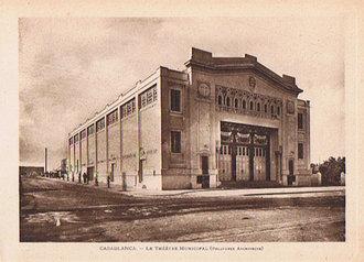 Théatre Municipal de Casablanca (Arch. Delaporte)