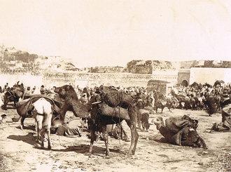 Marché à Tanger