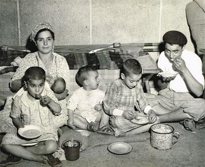 Famille émigrée en 1955