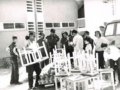 Intégration d'immigrants du Maroc à Ashdod