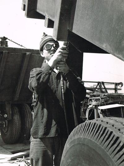 Ouvrier du Kibboutz Man'ara