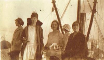 A bord du bateau le `Volubilis`