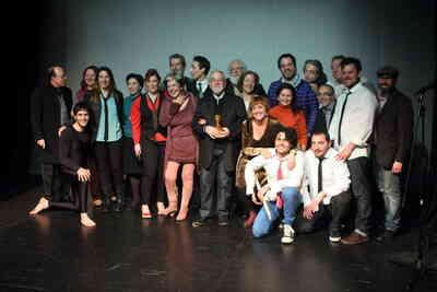 X Gala de la Unión de Actores e Intérpretes de Andalucía: Galardón a Justo Ruiz. Fot.018