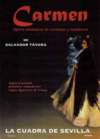 Carmen ópera andaluza de cornetas y tambores