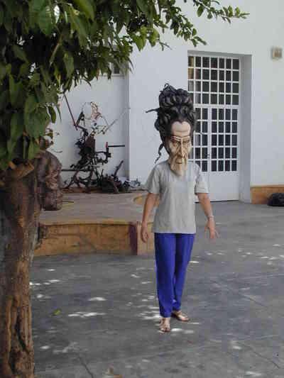Máscaras talleres de Escénica. Fot.007