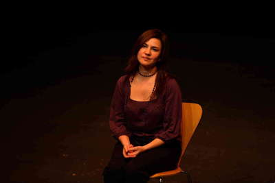 Presentación de Maná mana. Encuentro con los Ulen en el Teatro Central. Fot.003