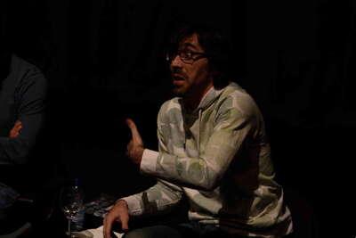 Conferencia sobre el Teatro de Ernesto caballero en el Teatro Central. Fot.011