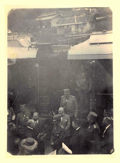 Kratek postanek Aleksandra Karađorđevića v Laškem