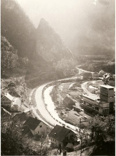Kolodvorska cesta - pogled proti Savi