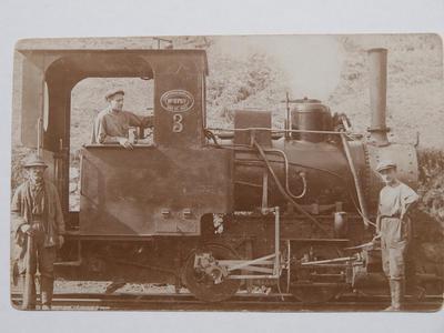 Voznik ozkotirne lokomotive