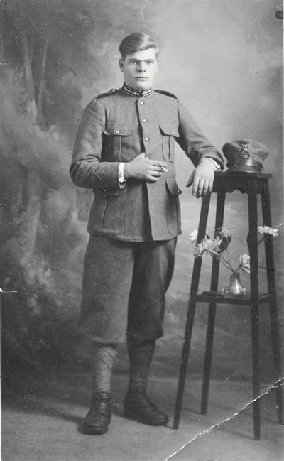 Vojak italijanske vojske iz Gabrovice pri Črnem kalu