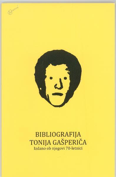 Bibliografija Toni Gašperič