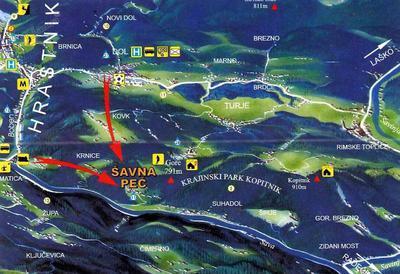 Panoramska karta Sovretove poti