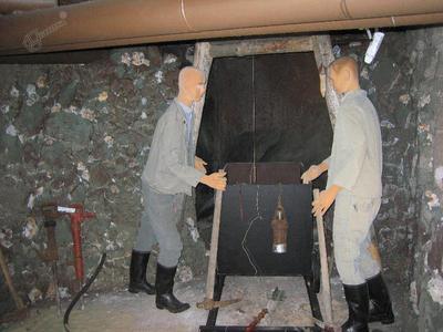 Sitarjevška rudarja pri delu
