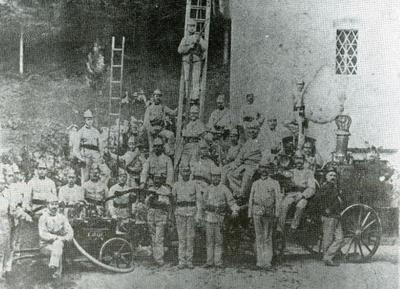 Nakup nove parne brizgalne leta 1893
