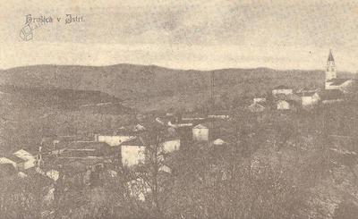 Hrušica v Istri
