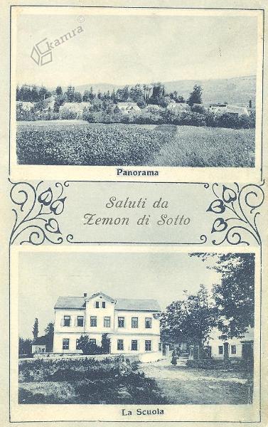 Dolnji Zemon, okrog 1930 leta