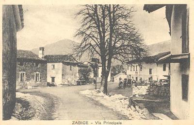 Zabiče, okrog 1933 leta