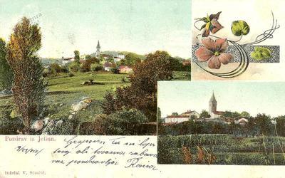Pozdrav iz Jelšan, okrog 1917 leta