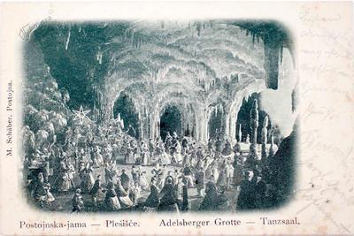 Binkoštno slavje in plesi v jami