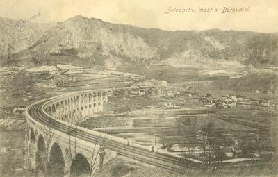 Železnični most v Borovnici