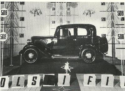 Fiat Balilla, luksuz