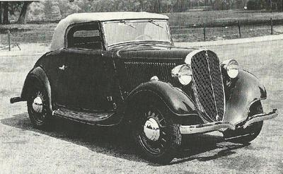 Fiat Simca, coupe-cabrio