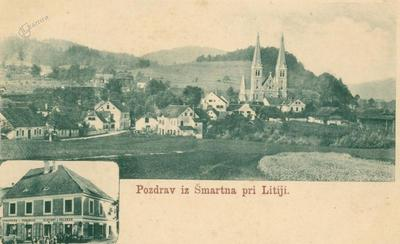 Šmartno pri Litiji okoli leta 1902
