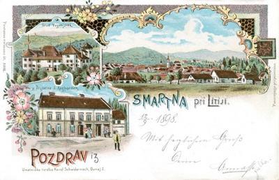 Šmartno pri Litiji leta 1898