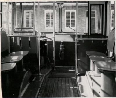 Notranjost mestnega avtobusa