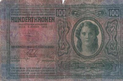 Bankovec za sto kron