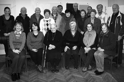 Udeleženci študijskega krožka na Javorniku