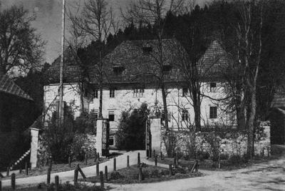 Javorniška graščina okrog 1940