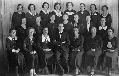 Ženski pevski zbor na Javorniku, 1935